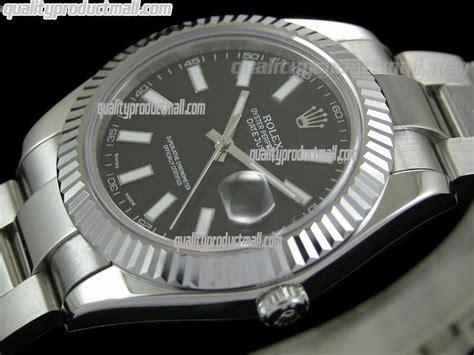 Rolex Oyster Ds 035 Black Steel rolex datejust ii 41mm swiss automatic black