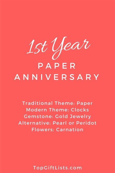 Wedding Anniversary Gift Themes By Year by Best 25 Traditional Anniversary Gifts Ideas On