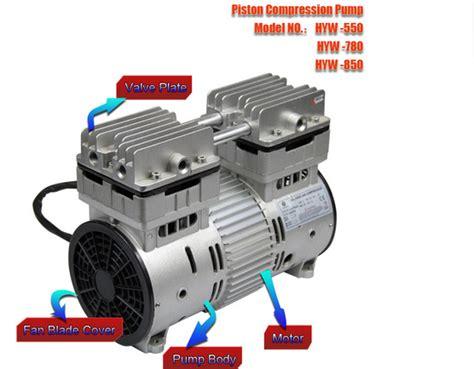 Pompa Air Mini 220v 850 w 220 v ac compresseurs pompe 110 v sans huile mini