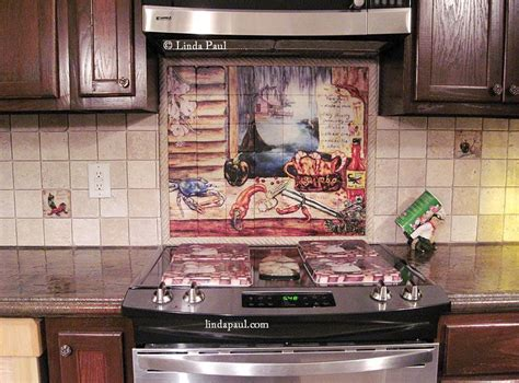 Kitchen Tile Murals Tile Art Backsplashes by Louisiana Bayou Art Tile Backsplash Mural