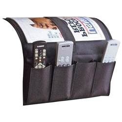remote caddy armchair holder newspapers
