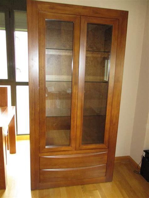 vitrinas de madera para comedor salones bp a vitrina madera maciza para el salon comedor