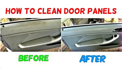 How To Clean Car Interior At Home How To Clean Door Panel How To Clean Car Interior Youtube