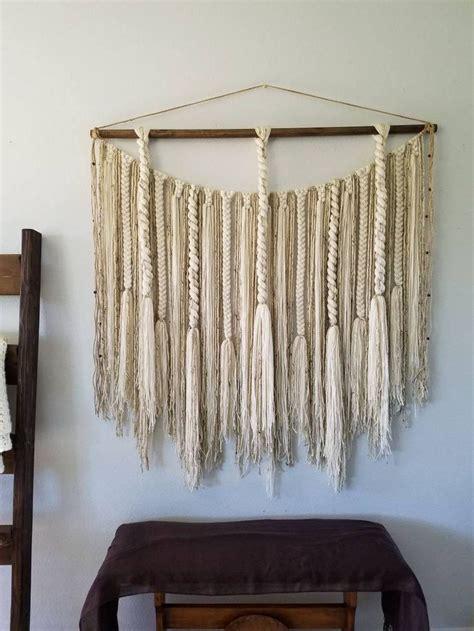 large macrame wall hanginglarge woven wall hangingyarn