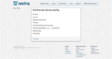 Django Tutorial Deployment | fafadia tech tutorial deploy django app on appfog
