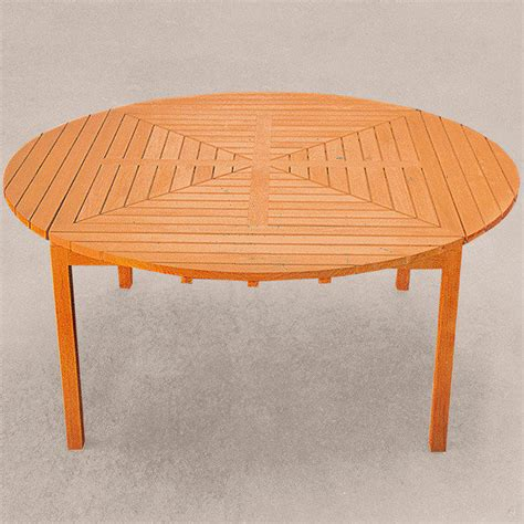 teak drei in eins tisch rund oval quadratisch
