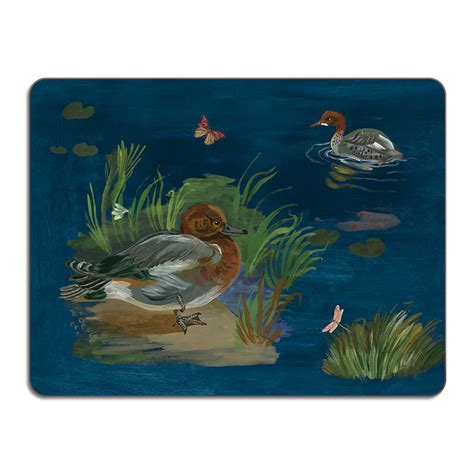 table creek and kiely buy avenida home nathalie l 233 t 233 ducks in a creek table mat