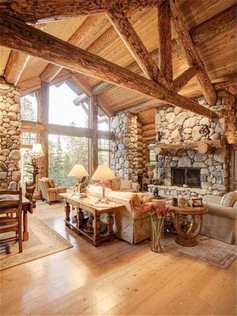 17 best ideas about log home decorating on log