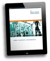 Next Step Mba by Next Step Partners Career Management Tools