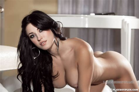 Naked Stefanie Knight In Playboy Magazine
