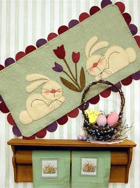 visitor pattern spring 37 best penny rug candle mat patterns images on