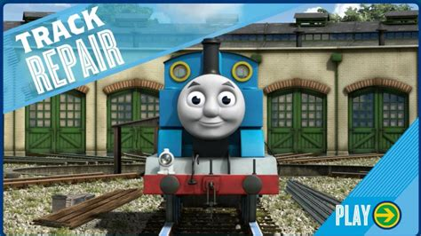thomas  friends game video track repair episode pbs kids games youtube