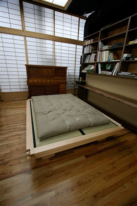 How To Make A King Size Platform Bed - futon traditional 171 miya shoji japanese shoji screen partition dividers sliding and freestanding