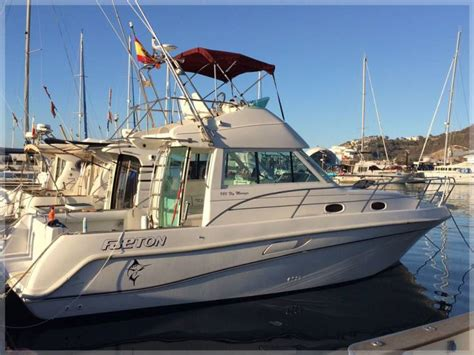 fishing boat for sale spain used sports fishing faeton boats for sale in spain boats