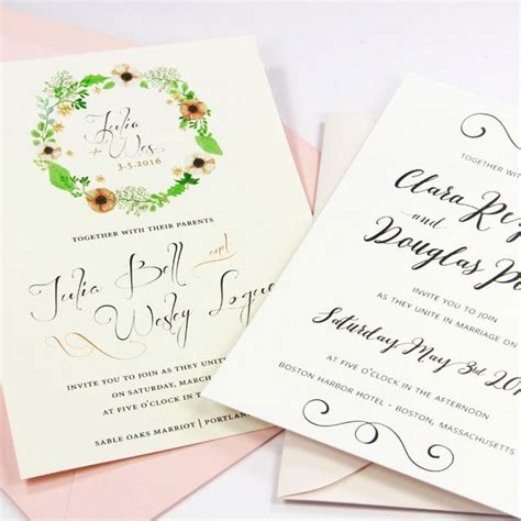 Paper To Print Wedding Invitations by Blank Cards Blank Invitations Note Cards At Lci Paper