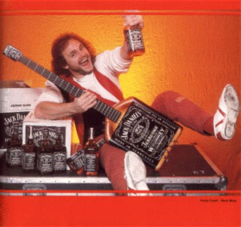 michael anthony jack daniels guitar q the common theme when rockstars party like a rockstar