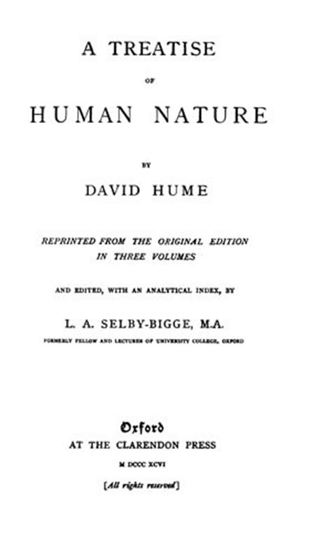Human Nature Essay Title by A Treatise Of Human Nature Abstract