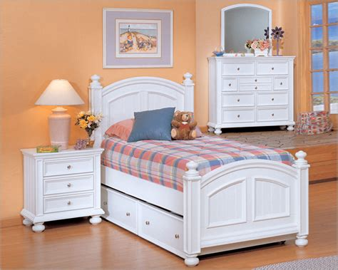 winners only youth bedroom set cape cod in white wo bp1001set