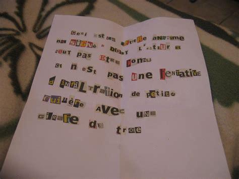 lettere anonime alti recrute humainement un peu de tout et de rien