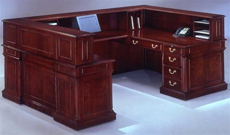 U Shaped Reception Desk Keswick U Shaped Reception Desk W Right Bridge