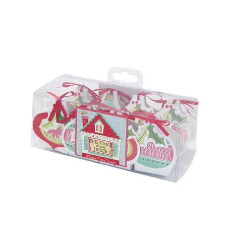 christmas family bauble gift boxes by postbox party