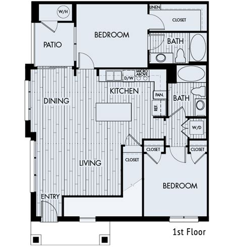 zenith floor plan shea apartment living