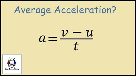 How To Search For In How To Find Acceleration Physics Exle
