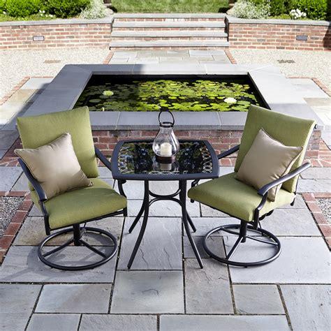 Patio Furniture Rockford Il Garden Oasis Rockford 3pc Bistro Set Shop Your Way
