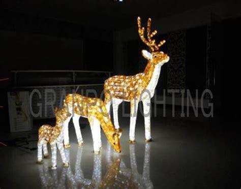 outdoor christmas animal lights granpo led christmas light outdoor decoration ip44 3d deer