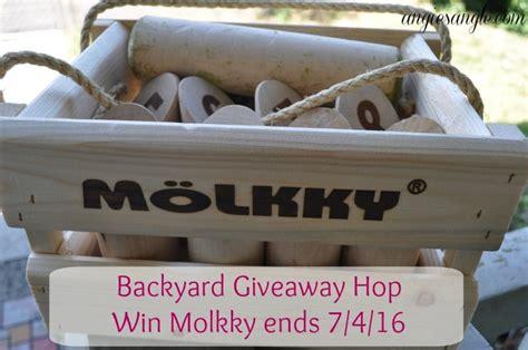 backyard giveaway backyard giveaway hop win molkky ends 7 4 16 angie s angle