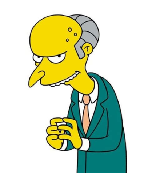 K Simpsons by Who Said It Donald Or Mr Burns From The Simpsons