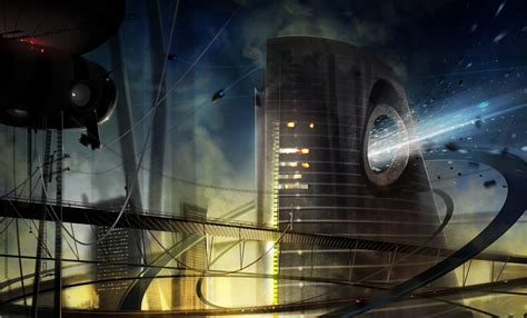 science fiction science fiction city