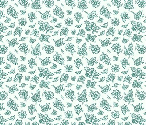 flower doodle fabric flower doodles teal fabric jesseesuem