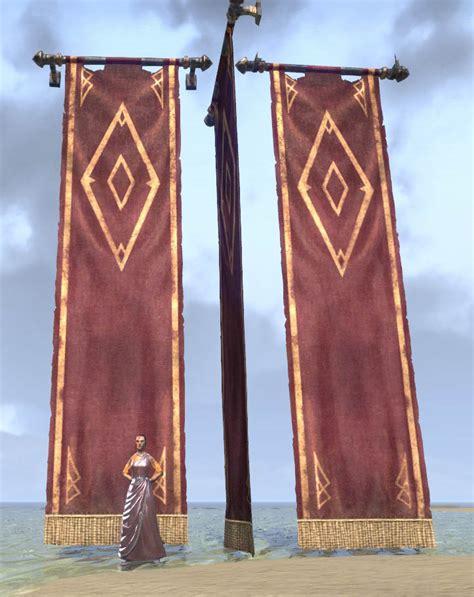 eso fashion imperial banner elder scrolls