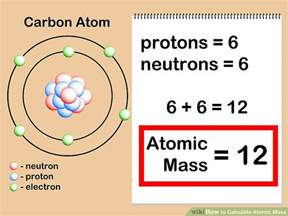 Atom With 6 Protons Chemistry Express The Weight Of Protons Neutrons And