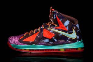 colorful lebrons nike release special lebron x mvp colorway kicks