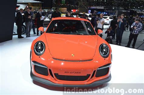 porsche 911 gt3 front porsche 911 gt3 rs 2015 geneva live