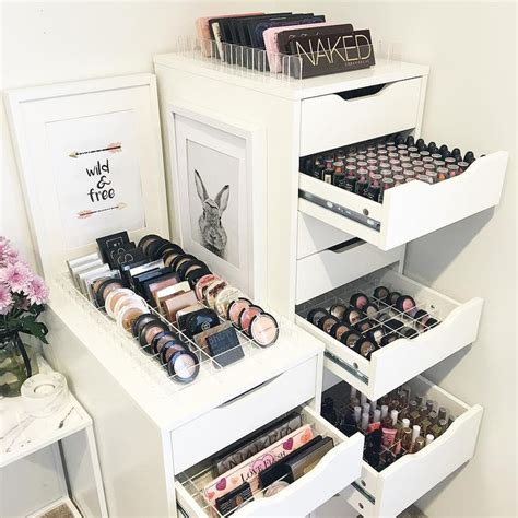 Makeup Vanity Storage Ideas by 1000 Ideas About Hair Product Organization On Hair Product Storage Bathroom Makeup