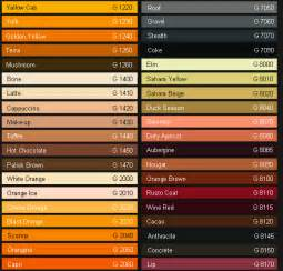 what colors make gold paint the new formula montana gold spray paint color chart 204