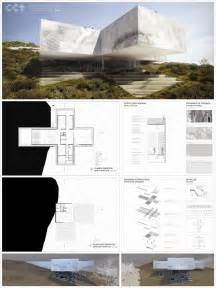 Architectural Layouts by Architecture Villa Image Architecture Presentation Board