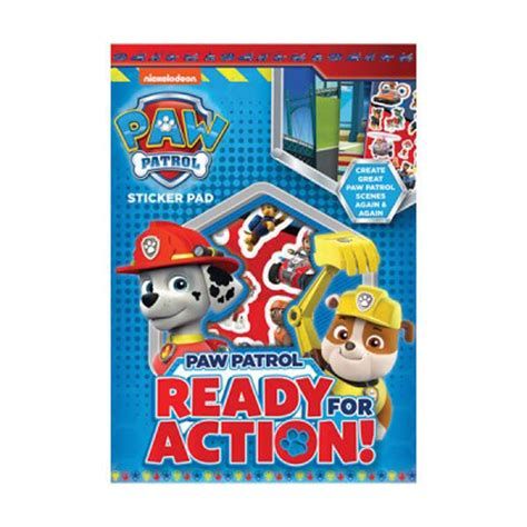 Paw Pad Stickers paw patrol sticker pad ppstp character brands