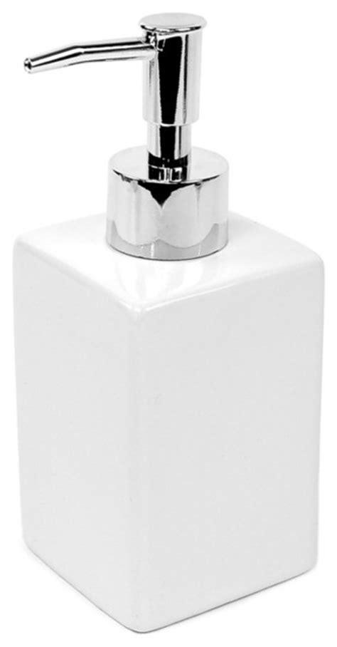 lotion dispensers bathroom white ceramic soap dispenser contemporary soap