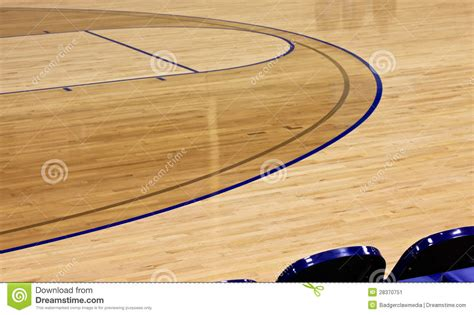 polished indoor basketball court background stock image image 28370751