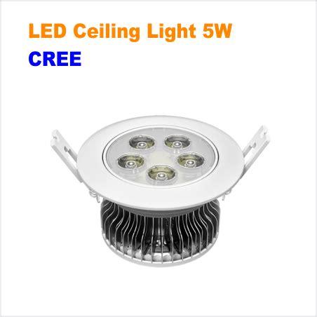 Led Ceiling Lights Canada Cree Led Ceiling Light 5w Leddepot Canada Wholesale Led Lights