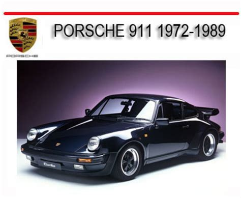 porsche mechanic salary porsche 911t 911s 911sc 1972 1989 repair service manual