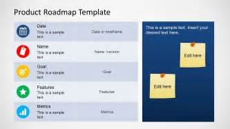 roadmap template for powerpoint product roadmap template cyberuse