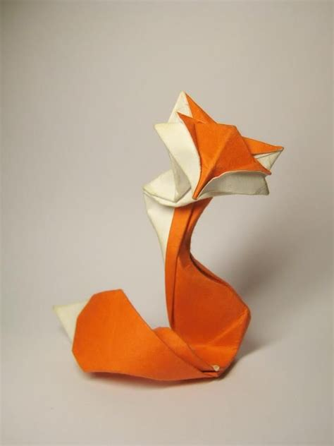 Origami Fox - origami paper origami and foxes