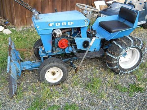 Garden Tractors by Vintage Ford Garden Tractor