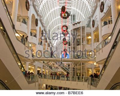 christmas decorations in wandswarth shopping centre london bentalls inside the bentall centre kingston upon thames surrey stock photo royalty free image