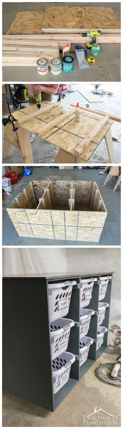 Simple Diy Laundry Basket Dresser How To Build A Laundry